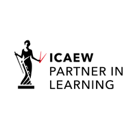 Institute of Chartered Accountants in England and Wales (ICAEW) logo