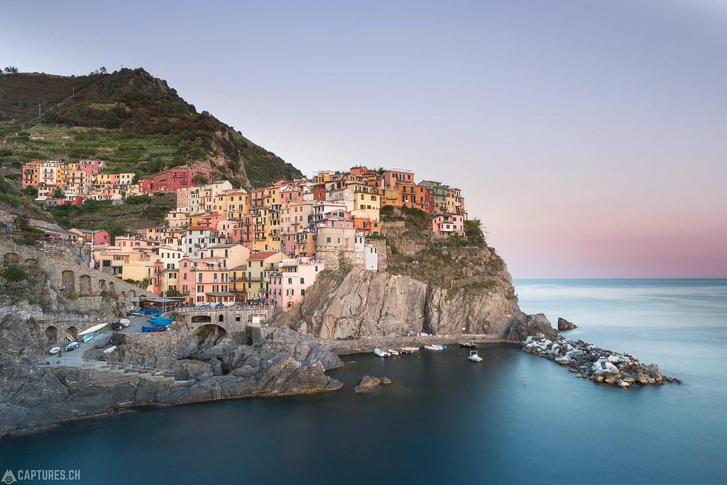 Sunset - Cinque Terre