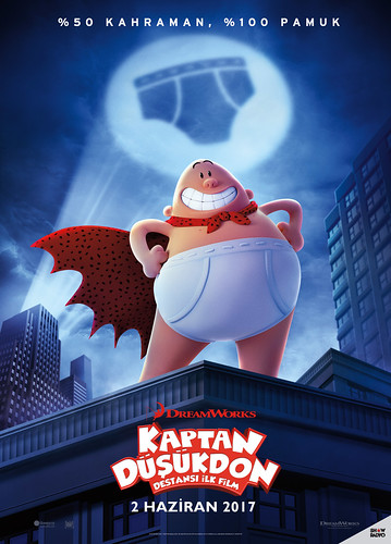 Kaptan Düşükdon: Destansı İlk Film - Captain Underpants: The First Epic Movie (2017)