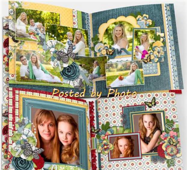 Universal photobook for Photoshop – our family album