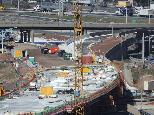 Goethals Bridge Replacement Project - Progress - March 2017