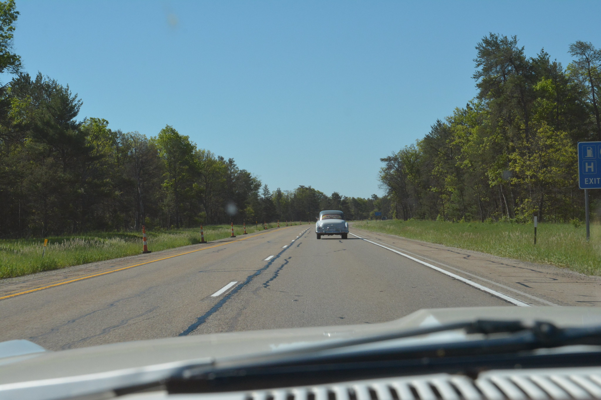Heading for Dearborn \