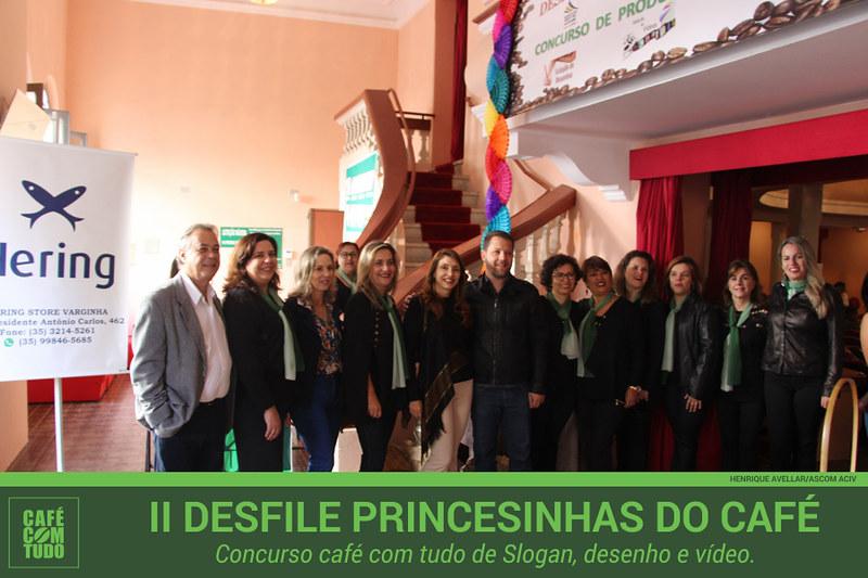 II Desfile das Princesinhas do Café foi destaque no Café com Tudo
