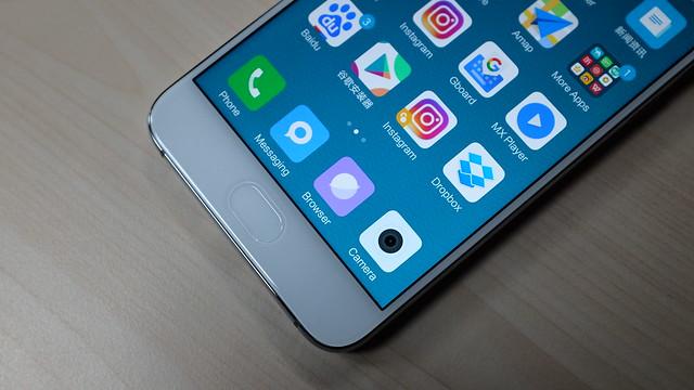 Fingerprint scanner pada Xiaomi Mi 6