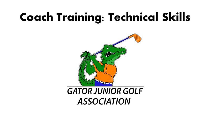 Coach Training: Technical Skills