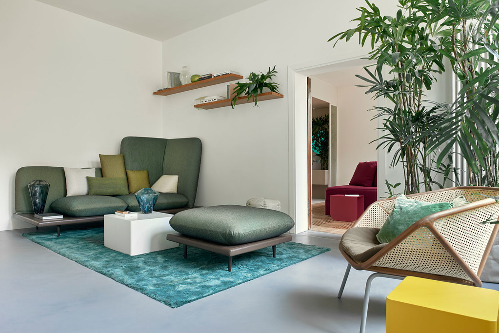 Modern floral design apartment in the heart of Venice Sundeno_01
