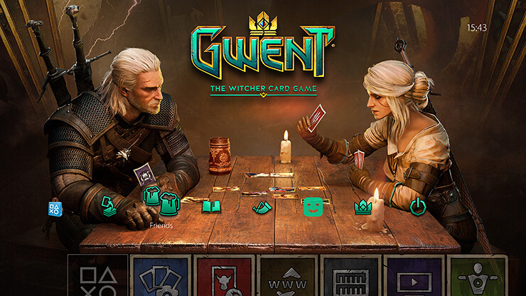 Card Games For Ps4 : Playstation store free theme gwent