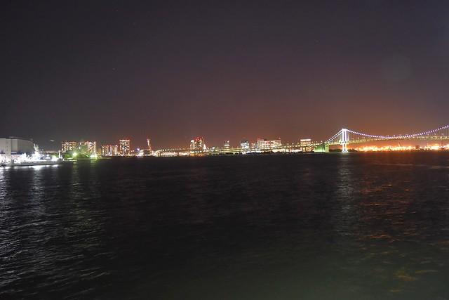 橘丸からの夜景