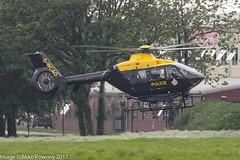 G-WCAO - 2001 build Eurocopter EC135 T2+, Police 04 inbound to the ASU at Barton