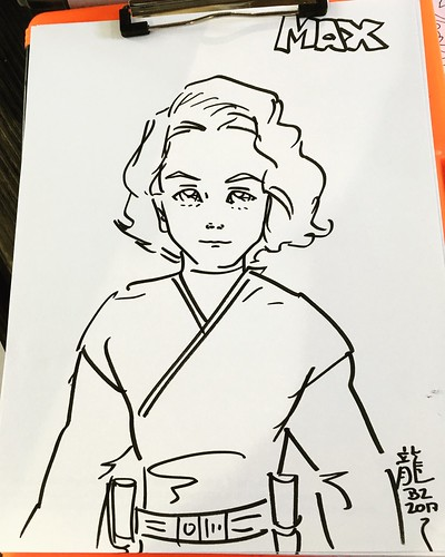 Cartoon Sketching event at Bond Park