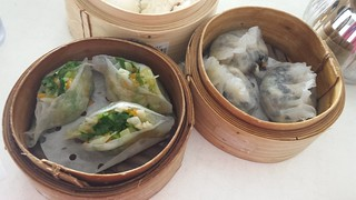 Coriander Dumplings and Mushroom Dumplings @ Easy House