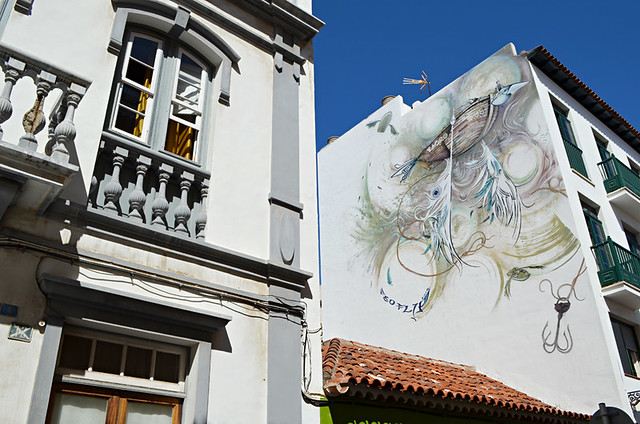 Mural, Ranilla District, Puerto de la Cruz, Tenerife