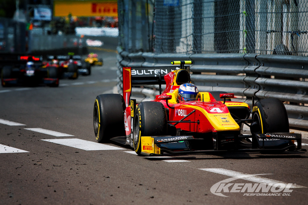 KENNOL podiums at FIA F2 Monaco GP.