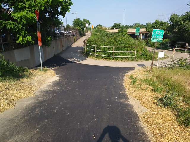 Four Mile Run new asphalt