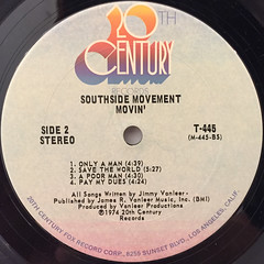 SOUTHSIDE MOVEMENT:MOVIN'(LABEL SIDE-B)