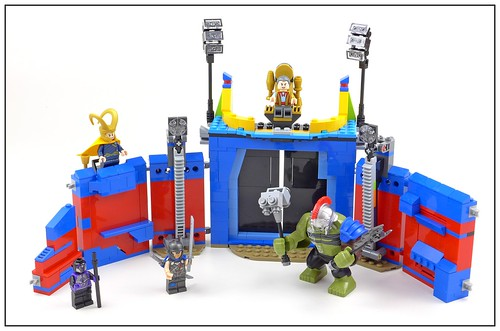LEGO Marvel Super Heroes 76088 Thor vs. Hulk Arena Clash 52