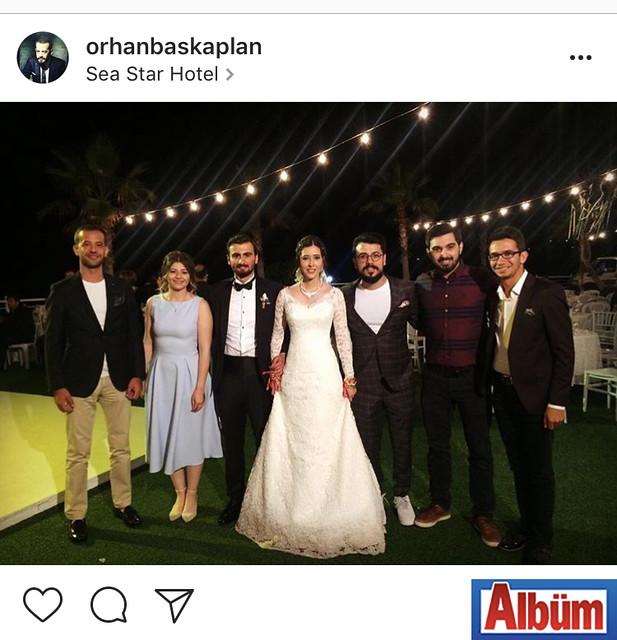 Orhan Başkaplan, Sea Star Hotel'de katıldığı düğünden bu fotoğrafı paylaştı