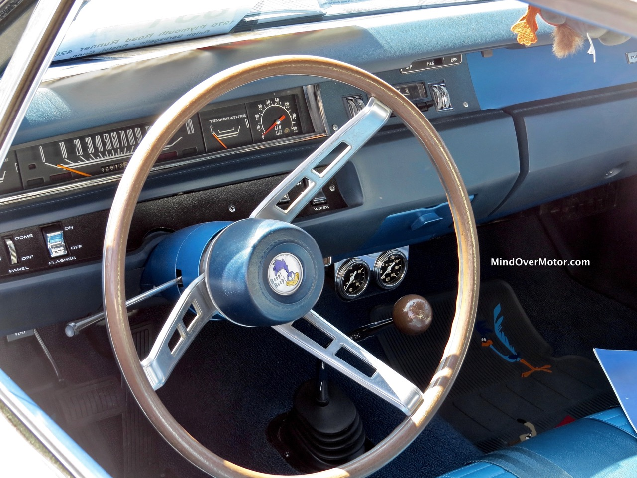 1969 M Code 4 Speed Road Runner Interior