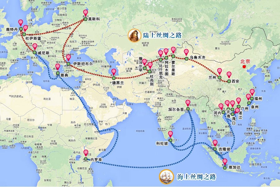 geo strategic location of india