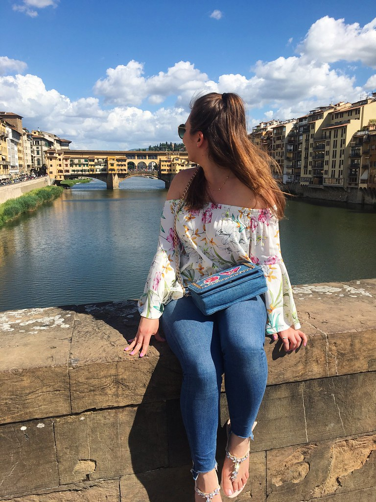 Florence floral outfit