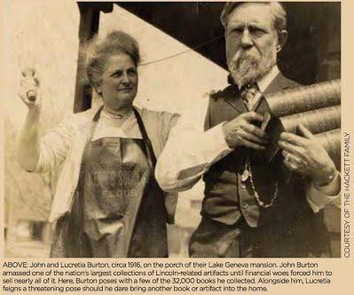 John & Lucretia Burton 1916