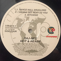 RAJA-NEE:HOT & READY(LABEL SIDE-D)