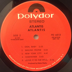 ATLANTIS:ATLANTIS(LABEL SIDE-B)