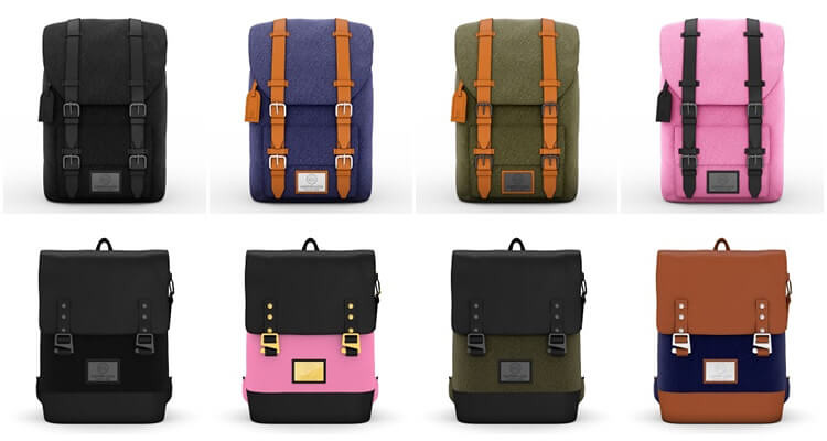 Gaston Luga backpack colours