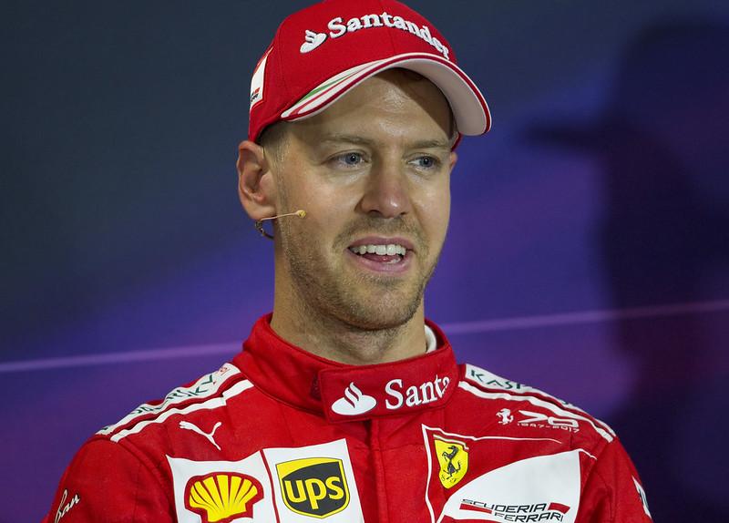 Sebastian Vettel還是有數學上的機率贏得年度車手冠軍。 (達志影像資料照)