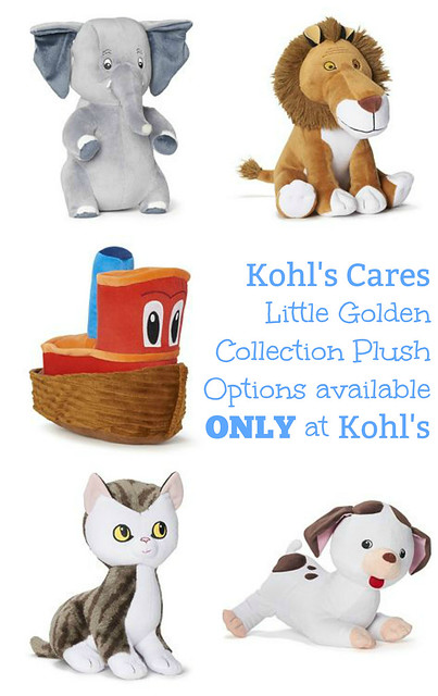 Kohl's Cares Little Golden Collection Plush Options available at Kohl's-2