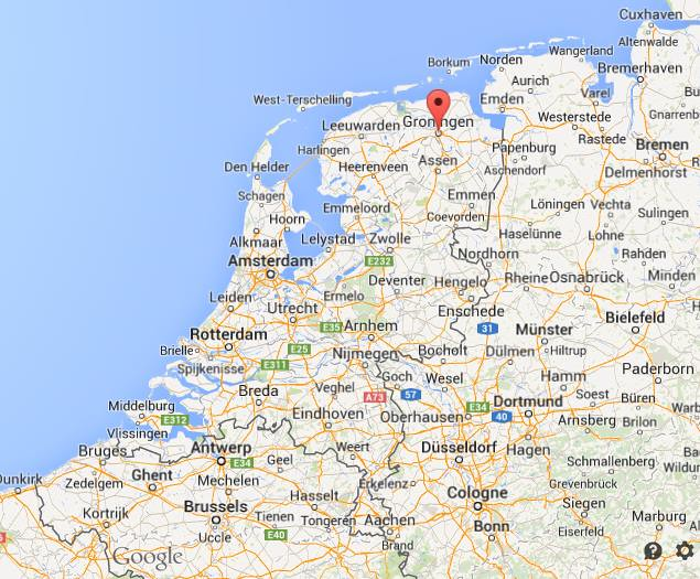 Where-is-Groningen-map-Netherlands