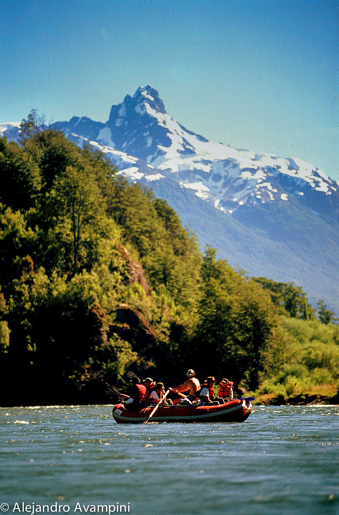 El Rio Palena con sus inconmensurables vistas