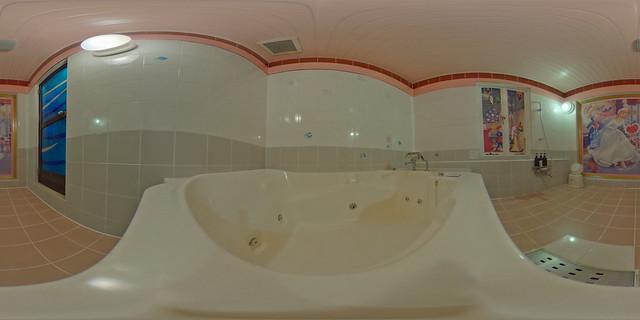 岡山Fine花園飯店浴室