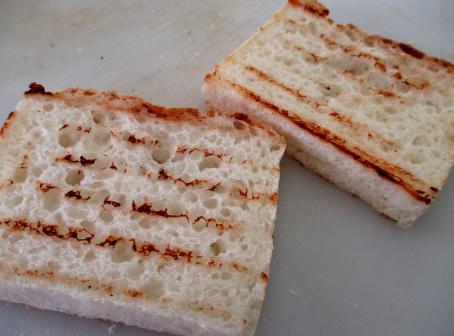 Gluten-free bread, toasted