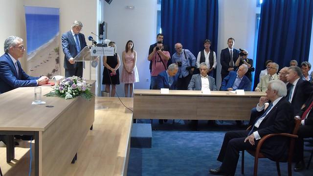 Επίτιμος Δημότης Λευκάδας ο Πρόεδρος της Δημοκρατίας Προκόπης Παυλόπουλος