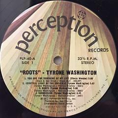 TYRONE WASHINGTON:ROOTS(LABEL SIDE-A)