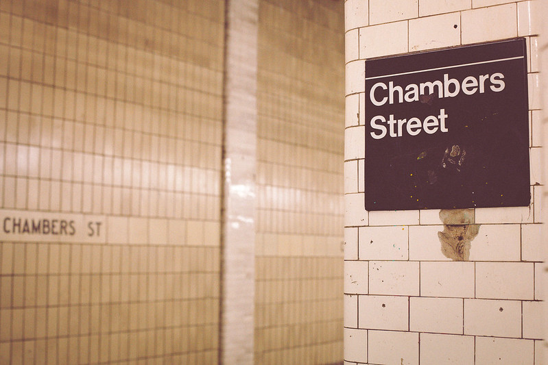 NYC Subway Chambers Street