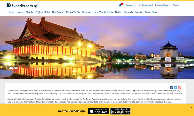 Taipei Tourism Guide