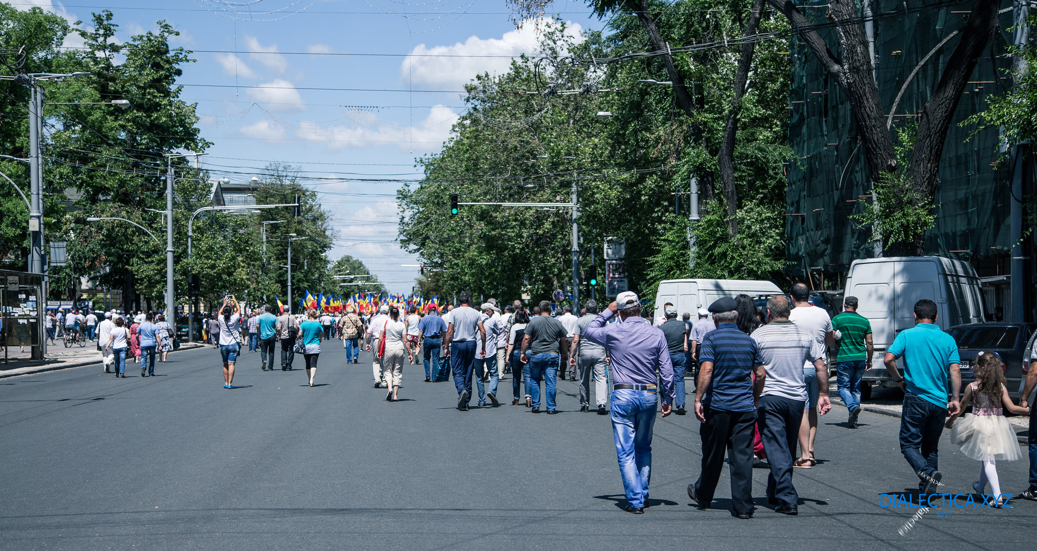 Протест в Кишиневе против смешанной избирательной системы Плахотнюка 11 июня 2017 (Фото)
