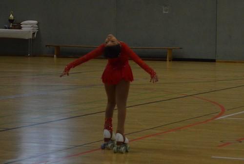 Artistic Roller Skating in Bonn, Northrhine-Westphalia County Championships