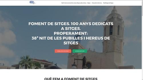 184 - Foment de Sitges i Ral·li Internacional de Cotxes d'Època Barcelona - Sitges