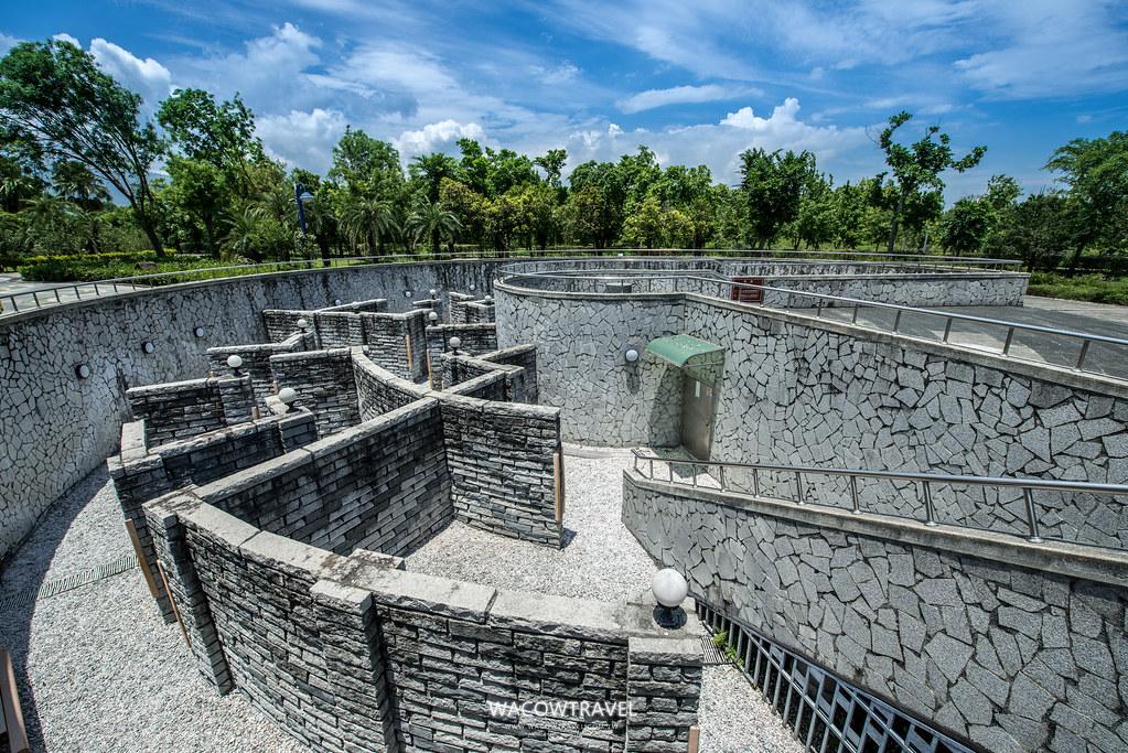 台東史前博物館-戶外迷宮