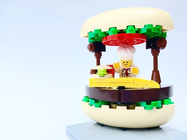 Gourmet Burger Stand