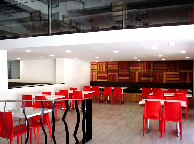 Sugar Bun Sg Merah seating area 1