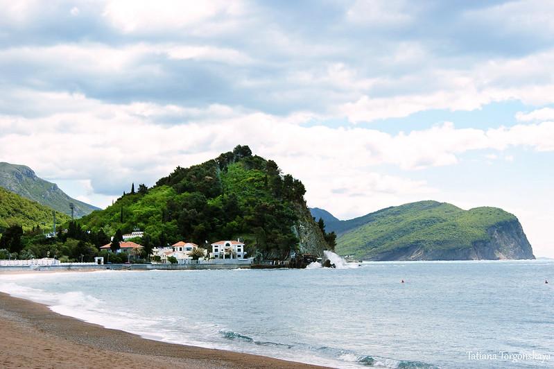 Прибрежная часть города