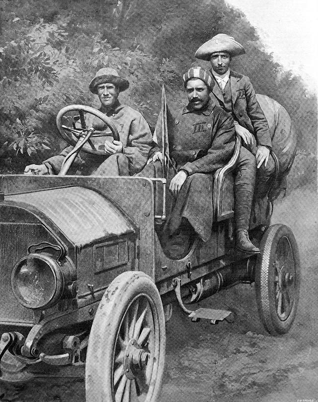 1907-08-11. № 2. L'illustrazione Italiana. Pechino-Parigi 2