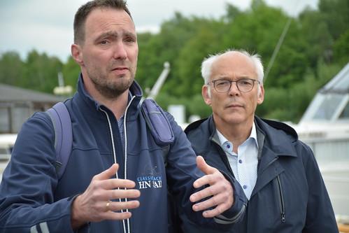 PvdA foar Fryslân bezoekt 'Oudega aan het water'