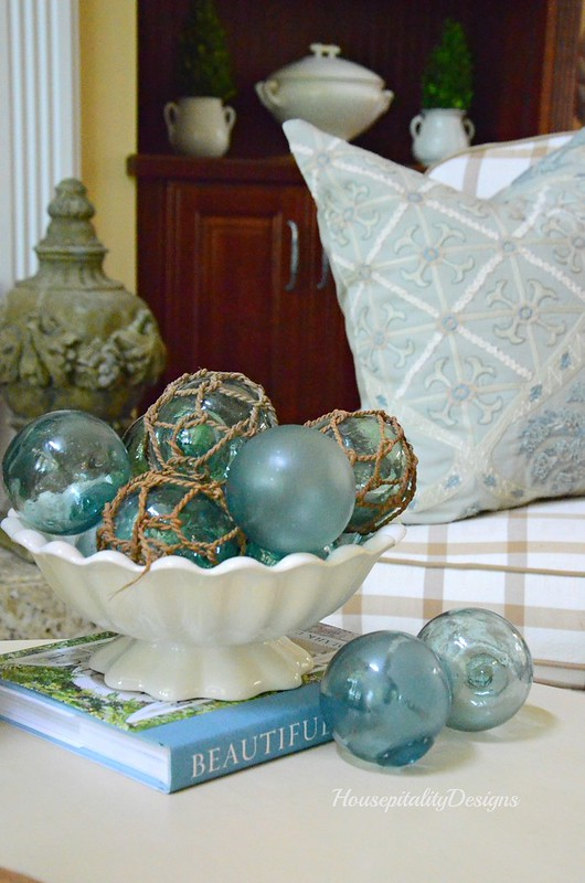 Summer Vignette-Japanese Fishing Floats-Housepitality Designs