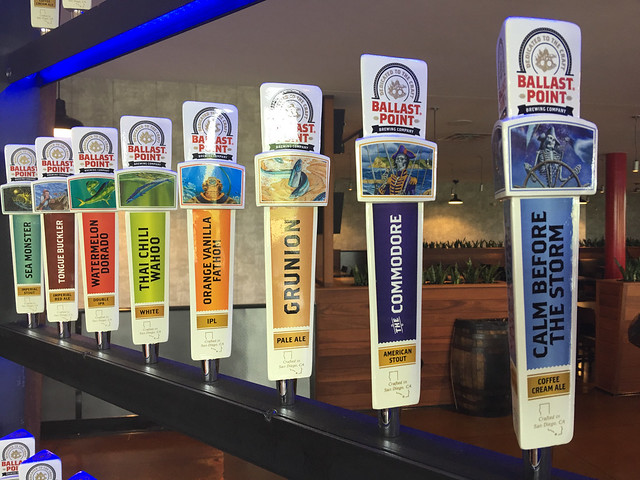 Ballast Point Tap Handles