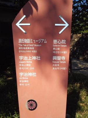 恵心院の周辺には宇治神社、宇治上神社、源氏物語ミュージアムなどがある